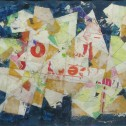 Anne Wall Thomas, Jubilant, 2010 mixed media 13 x 18