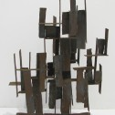 Anne Wall Thomas, Urban Structure, 1963 sculpture 22 x 15 x 5