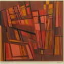 Anne Wall Thomas, Windows, 1955 serigraph 12 x 12