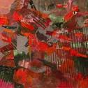 Richard Kinnaird, Amazing Reach, acrylic on panel 9.5 x 13.25