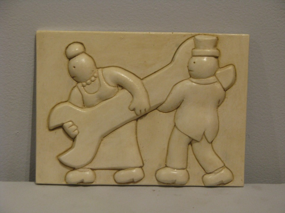 Tom Otterness - Men with Spanner Wall Hanging