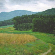 Ben Berns:  Landscapes Opens at Performing Arts Center