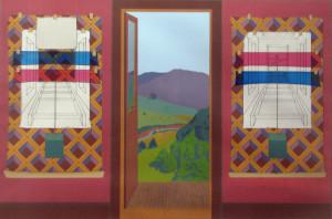 Windfall, Two Views, 1978 Serigraph