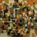 Anne Wall Thomas, Autumn Paradox, mixed media, 2003 12.5 x16.5
