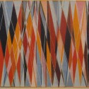 Anne Wall Thomas, For Garinger, 1961 serigraph 19 x 60