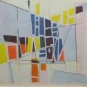Anne Wall Thomas, Mosaic Stage I, 1960 serigraph 14 x 15