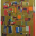 Anne Wall Thomas, Treasure Trove, 1970 serigraph 18 x 12