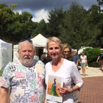 Lee Hansley Gallery Owner Judges Florida Art Festival