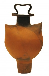 Large lidded pot by Lilo Kemper from the collection of Ben and Margaret Williams.