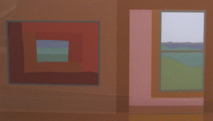 Painting and Window, 1977 Serigraph